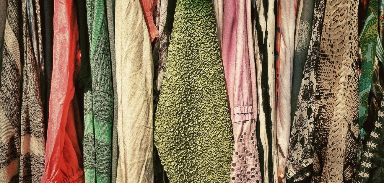 Second hand store clothing
